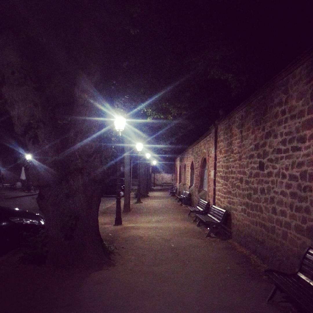 Seligenstadt bei Nacht