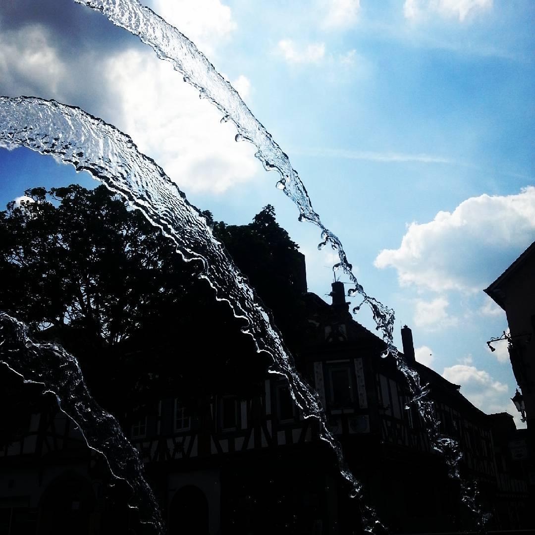 Der Brunnen am Marktplatz