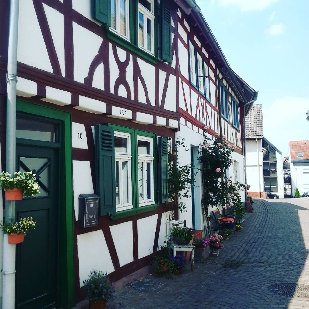 Fachwerk in der Seligenstädter Altstadt