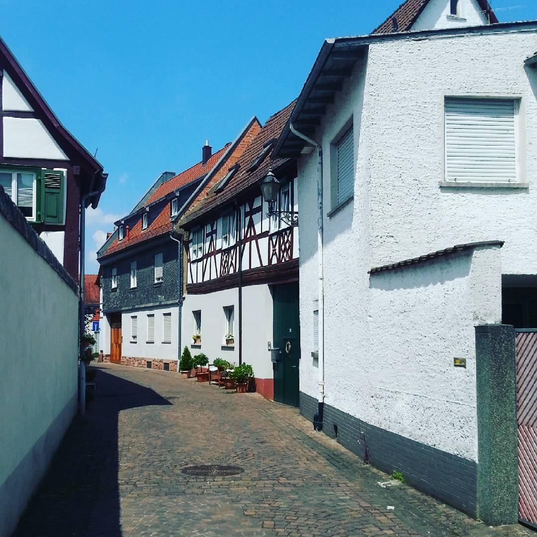 Eine Straße in der Altstadt
