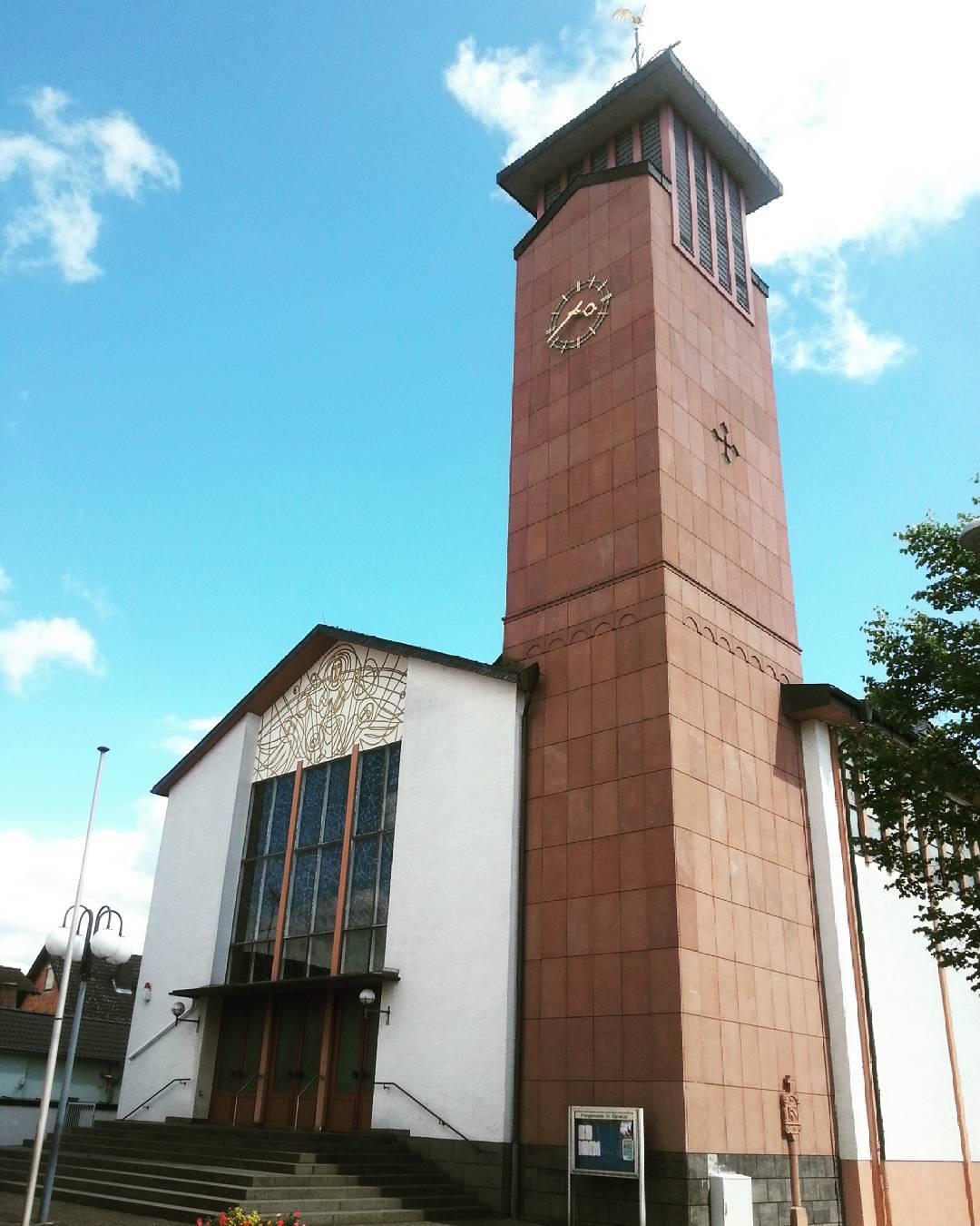 Die katholische Kirche in Klein-Welzheim