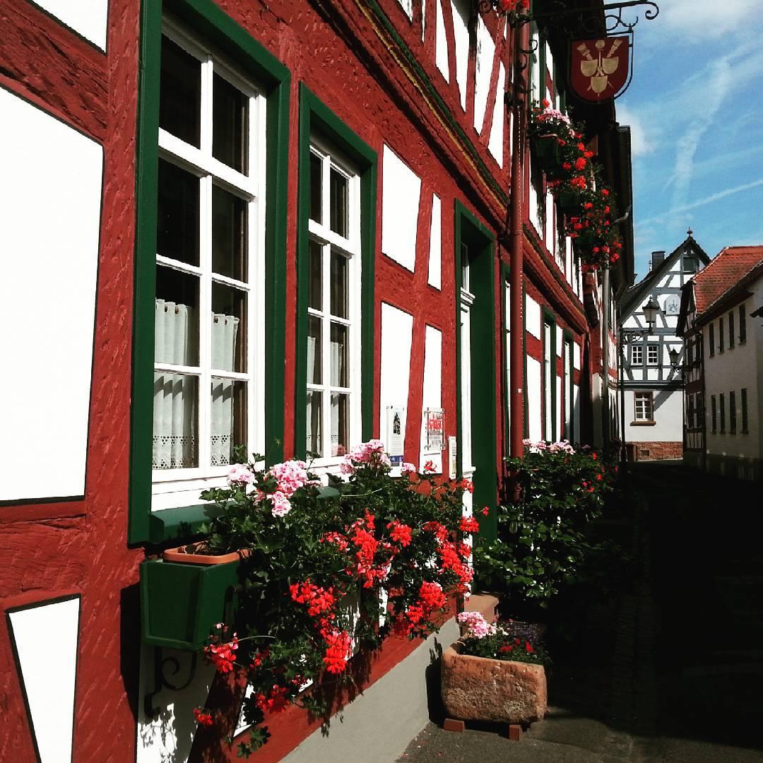 Fachwerk in der Gerbergasse in Seligenstadt