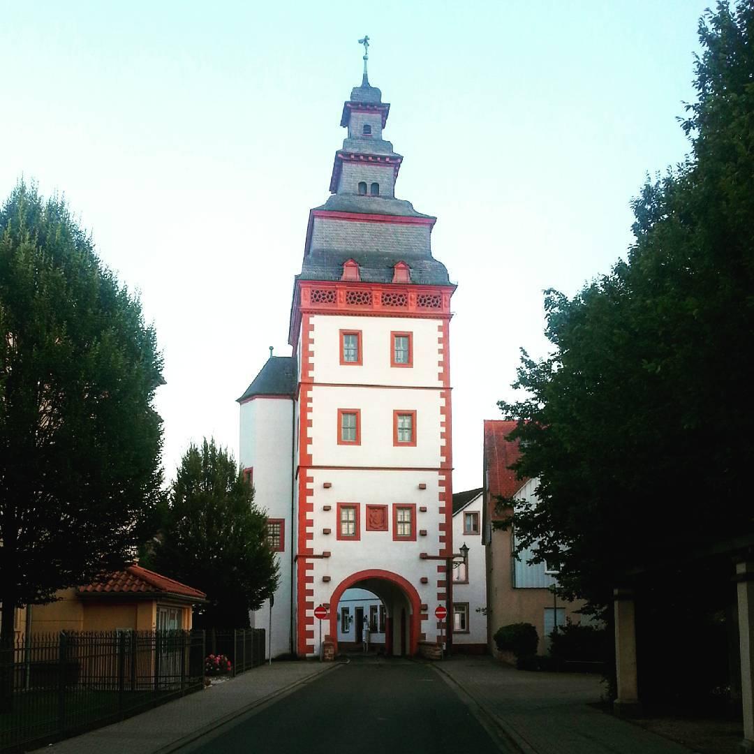 Das Steinheimer-Tor ist eines der alten Seligenstädter Stadttore und als einziges in Form und Standort noch vollständig erhalten. Es liegt in der Steinheimer Straße und markiert die Grenze zur Altstadt