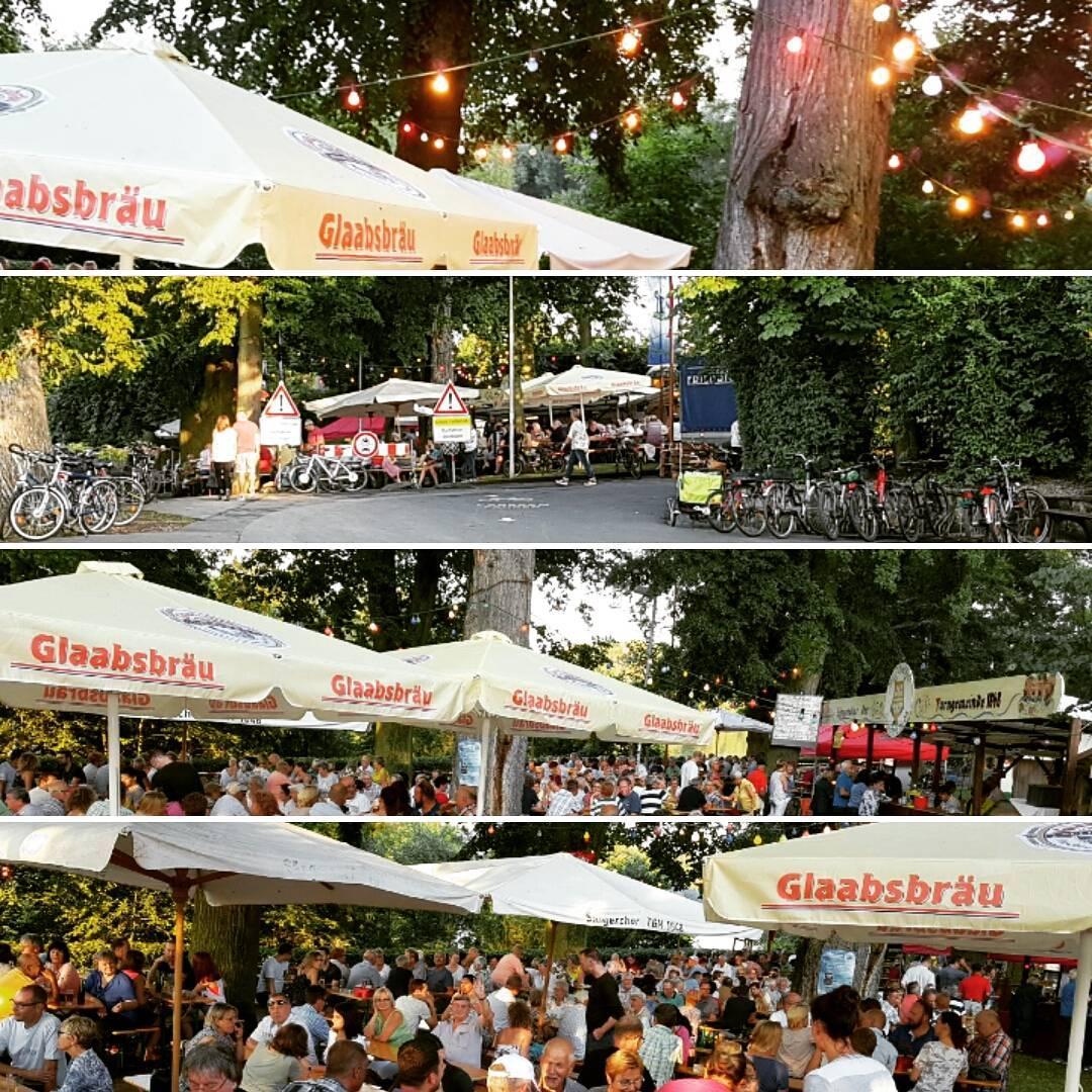Impressionen vom Maa-Allee-Fest der TGM Seligenstadt. Sehr idyllischer Ost zum Feiern. Kommt doch heute mal vorbei