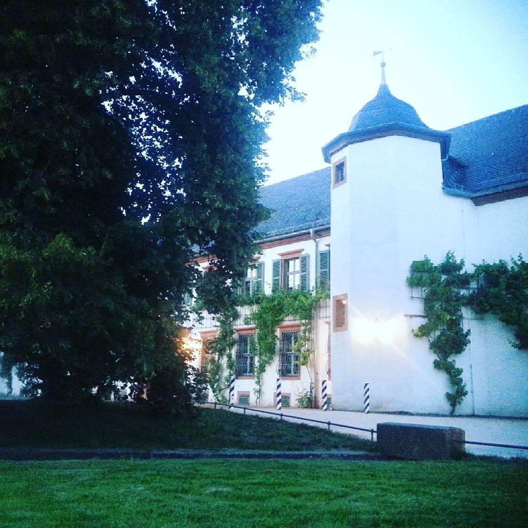 Abendstimmung im Klostergarten