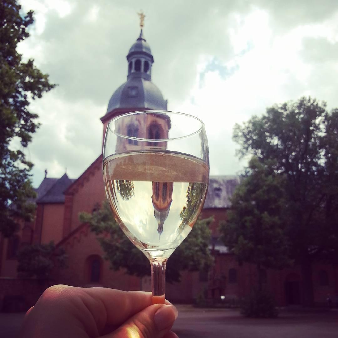Der Engelsturm im Weinglas