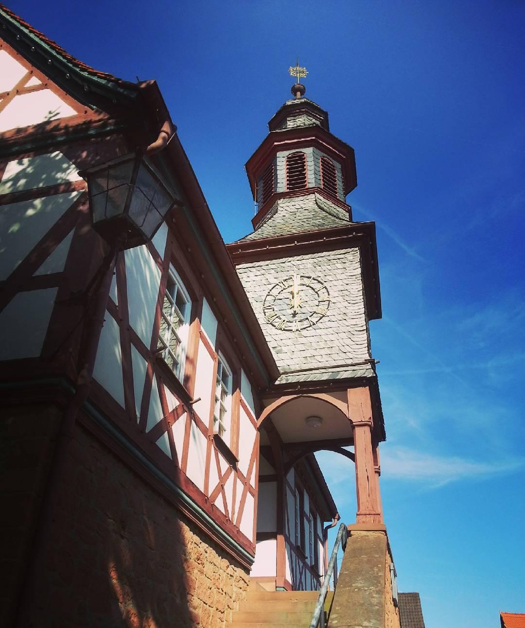 Das Rathaus in Froschhausen