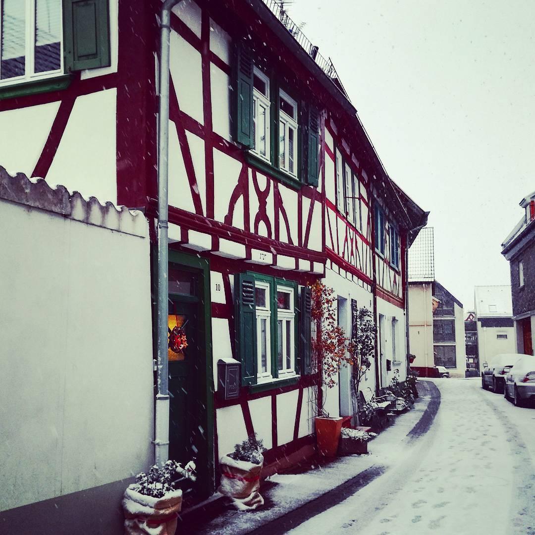 Auch so kann der Winter in Seligenstadt aussehen