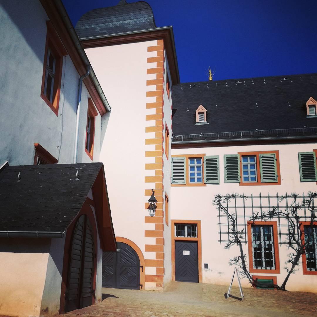 Hier im Klostergarten befindet sich der Zugang zum Klostercafé, wunderschön gelegen und immer einen Besuch wert