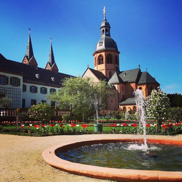 Einer der schönsten Orte in Seligenstadt… @schloesserundgaertenhessen