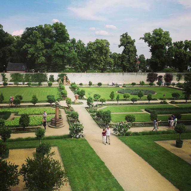 Der Konventgarten im Seligenstädter Kloster