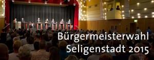 Bürgermeisterwahl Seligenstadt
