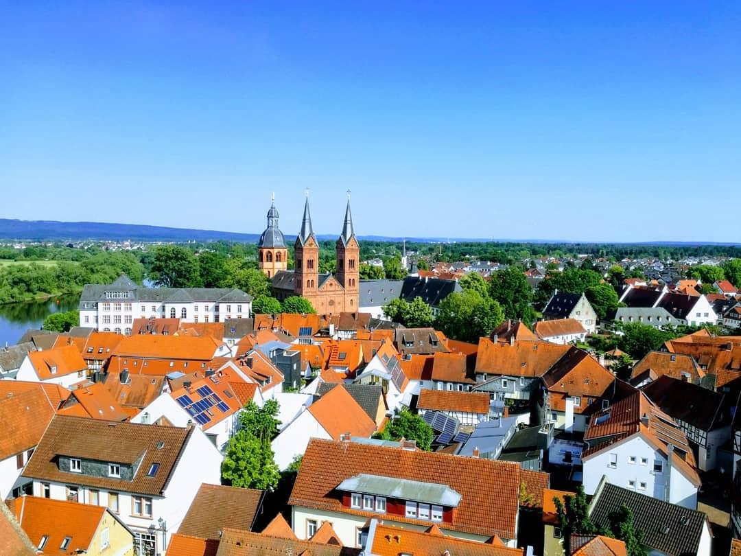 Von wo aus man wohl diesen Blick über die Altstadt hat?